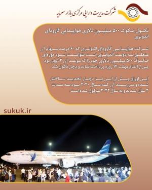 نکول صکوک 500 میلیون دلاری هواپیمایی گارودای اندونزی