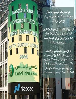 عرضه یک میلیارد دلار صکوک بانک اسلامی دبی در بورس نزدک